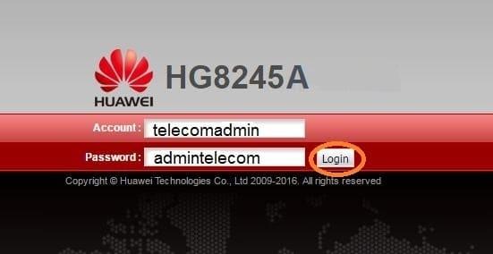 Huawei HG8245A